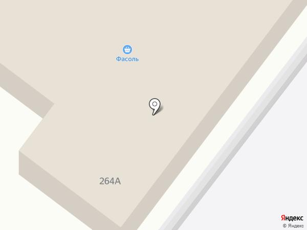 Хозяйственный магазин на карте Ленинска-Кузнецкого