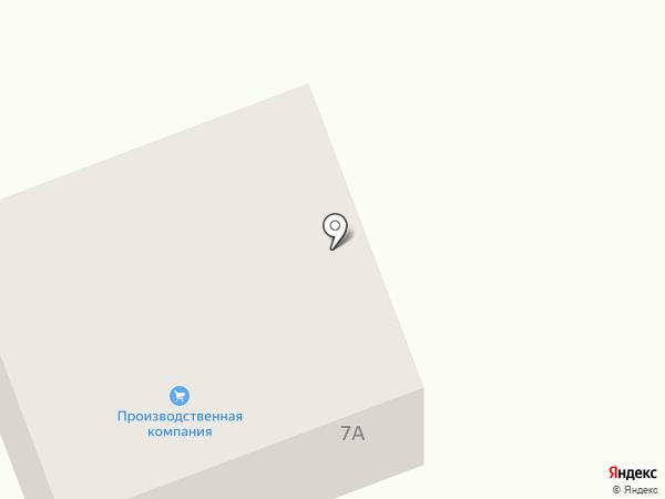 Производственная компания на карте Старобачатов