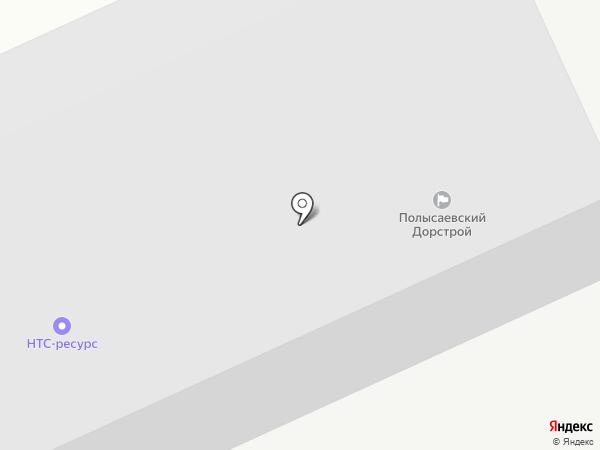 Полысаевский ДорСтрой на карте Ленинска-Кузнецкого