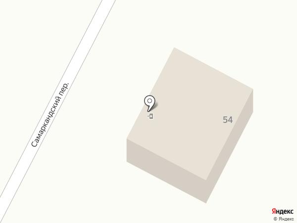 Продуктовый магазин на ул. Павленко на карте Ленинска-Кузнецкого