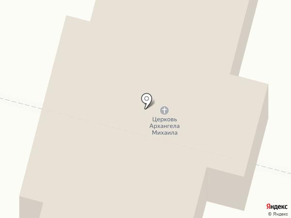 Свято-Успенский женский монастырь на карте Елыкаево