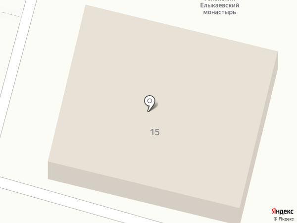 Храм Архангела Михаила на карте Елыкаево