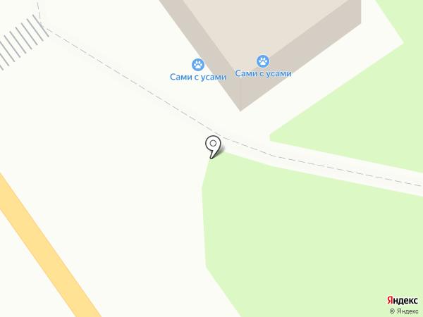 Сеть ветеринарных клиник на карте Белово