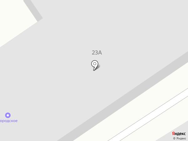 Городское на карте Белово