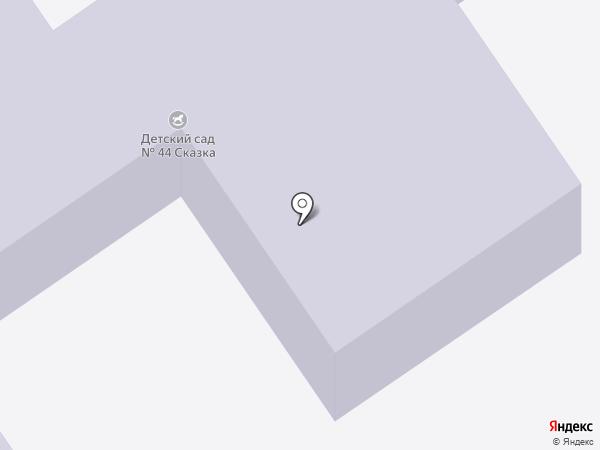 Детский сад №44, Сказка на карте Белово