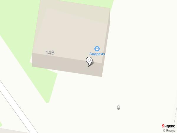 Яночка на карте Белово