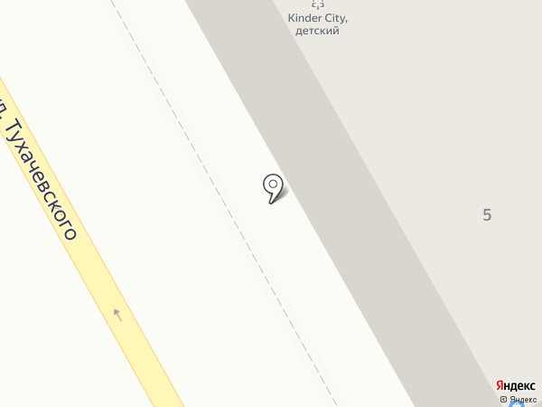 Светлана на карте Нового Городка