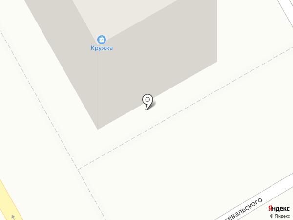 Кружка на карте Нового Городка