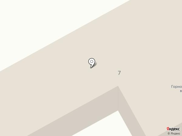 Кемеровский военизированный горноспасательный отряд на карте Нового Городка