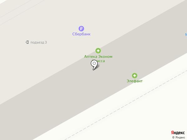 Трикотажный магазин на ул. Пржевальского на карте Нового Городка