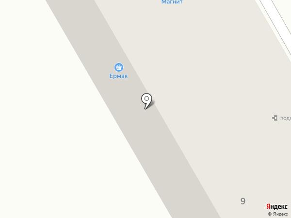 Далорес на карте Нового Городка