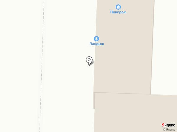 Пивпром на карте Белово