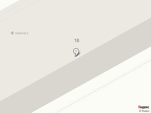 Кокетка на карте Нового Городка