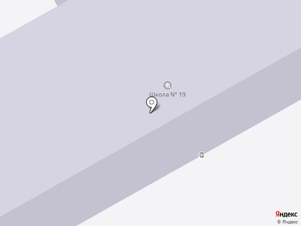 Средняя общеобразовательная школа №19 на карте Нового Городка