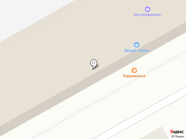 Беловский на карте Нового Городка