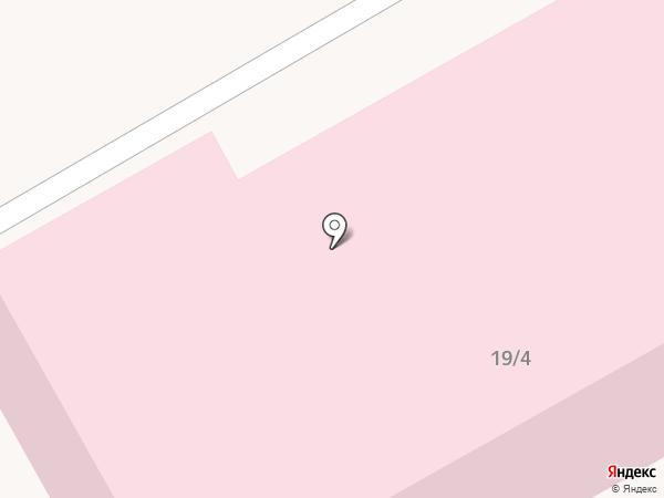 Городская больница №2 на карте Нового Городка