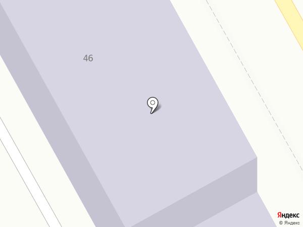 Специальная (коррекционная) общеобразовательная школа-интернат №15 на карте Нового Городка
