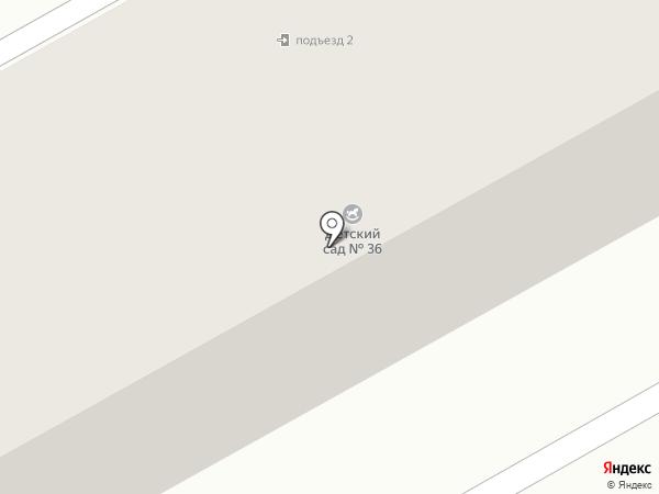 Детский сад №52 на карте Нового Городка