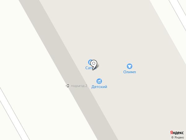 Олимп на карте Нового Городка