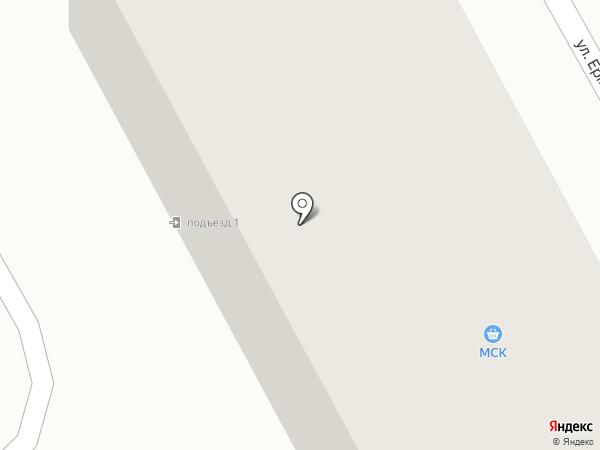 МСК на карте Нового Городка