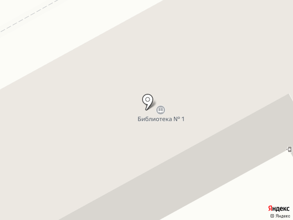 Библиотека №1 на карте Нового Городка