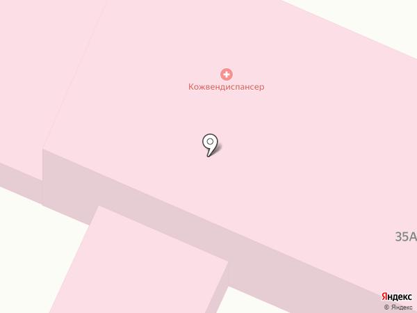 Беловский кожно-венерологический диспансер на карте Белово