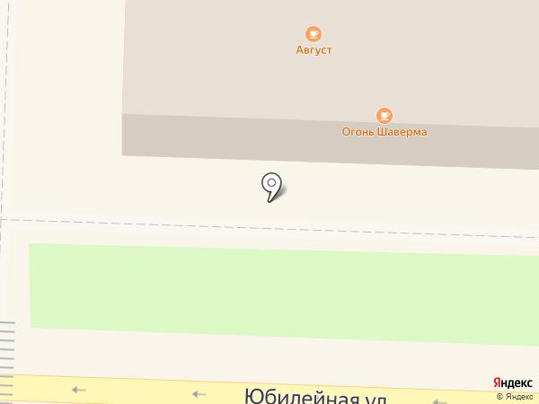 Август на карте Белово