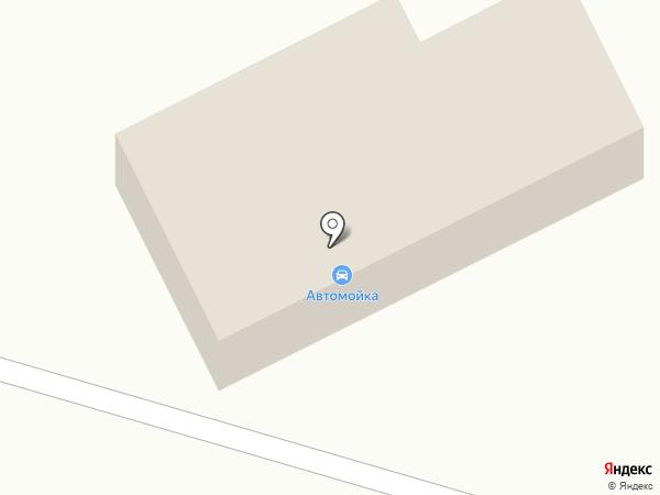 Автомойка на ул. Ермака на карте Нового Городка