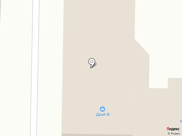Драй-В на карте Белово