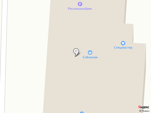 Мясная лавка на карте Белово