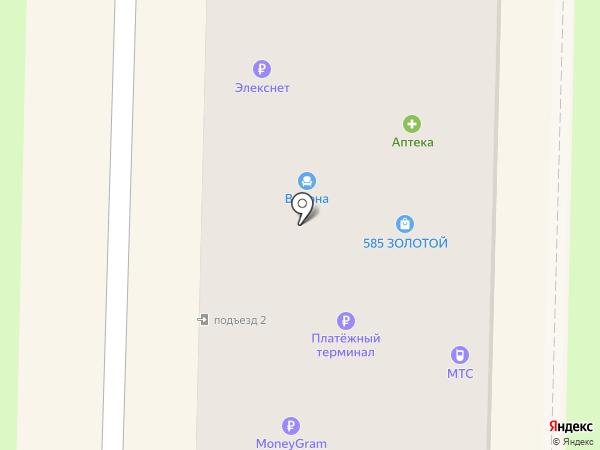 Элифант на карте Белово