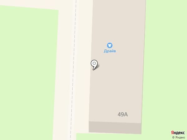 Драйв на карте Белово