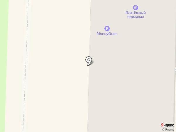 Финтерра на карте Белово