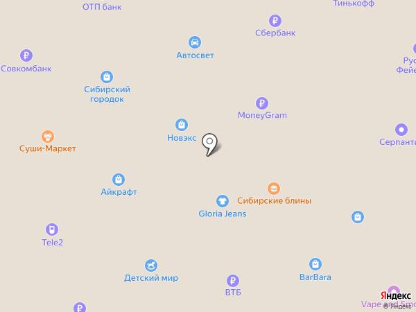 Палата на карте Белово