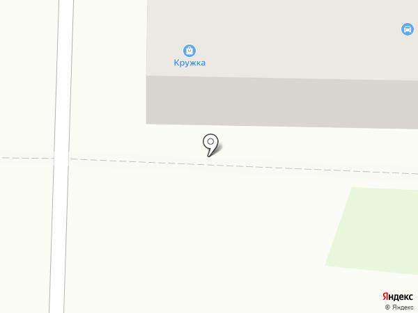 Кружка на карте Белово