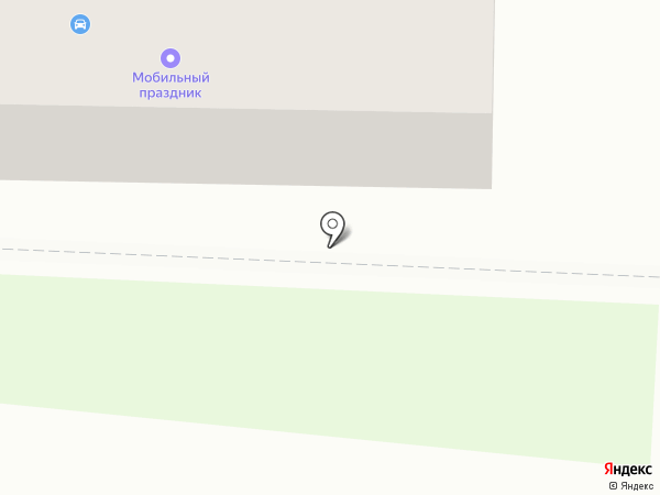 Мобильный праздник на карте Белово