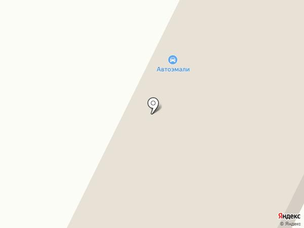 Автокомплекс на карте Белово