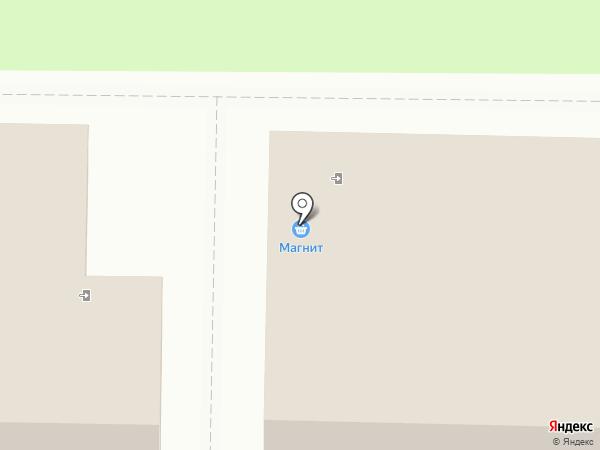 Магнит на карте Белово
