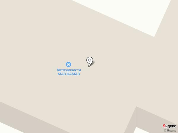 Магазин товаров для КАМАЗ на карте Белово