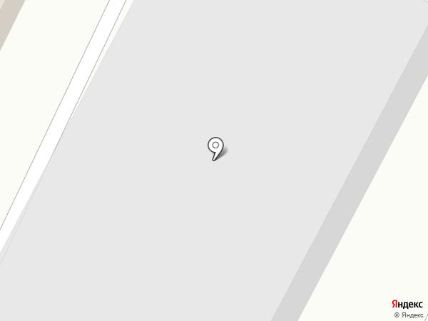 Воздушный шарик на карте Белово
