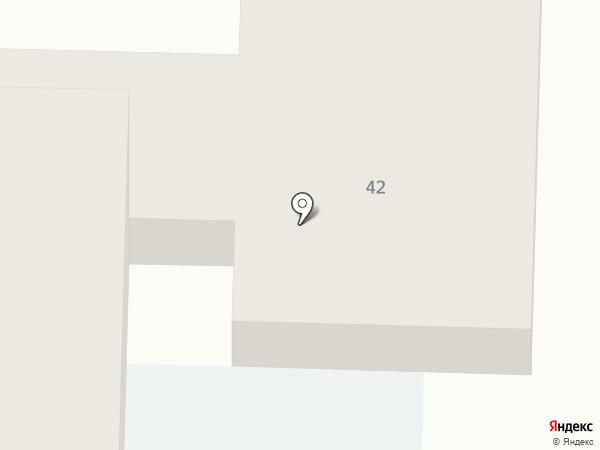 Общежитие на карте Белово