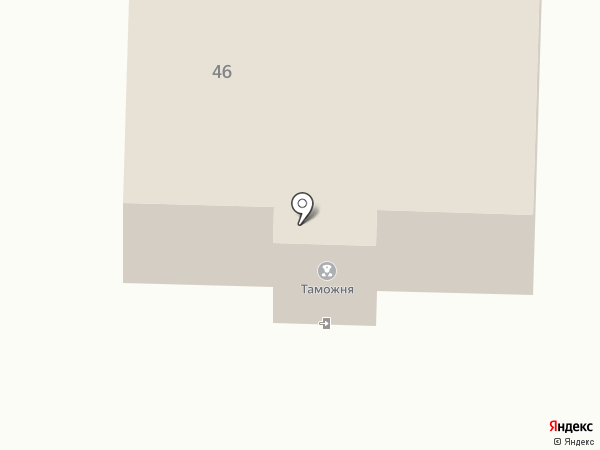 Беловский таможенный пост на карте Белово