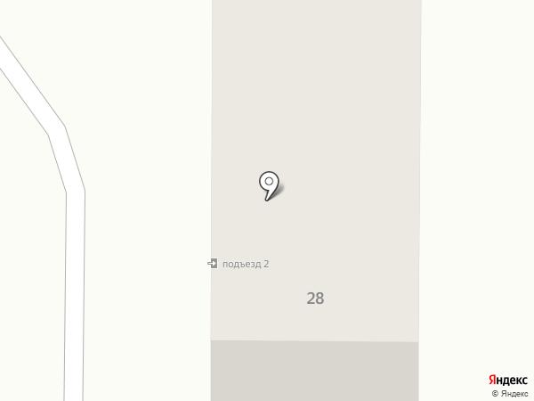 Корочка на карте Белово