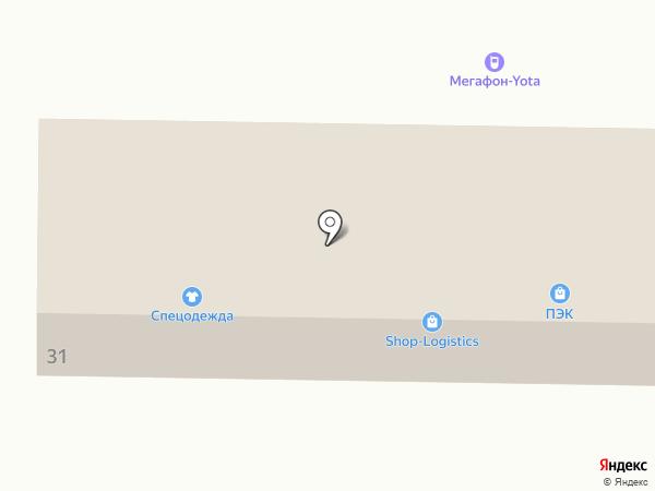 Торгово-монтажная компания на карте Белово