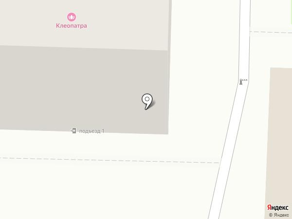 Серебряные ножницы на карте Белово