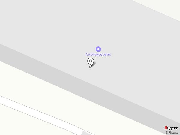 СибТехСервис на карте Белово