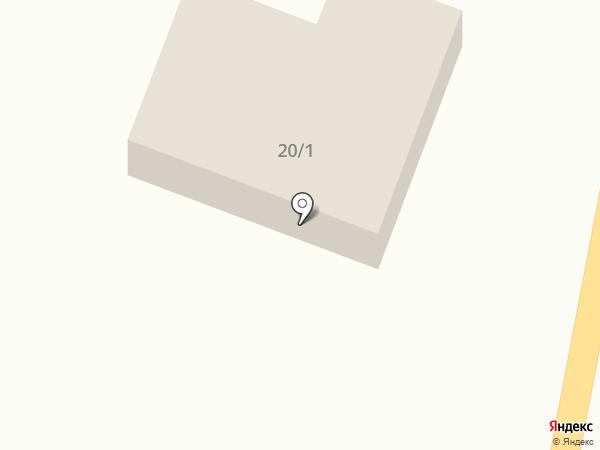 Автомастерская на Партизанской на карте Белово