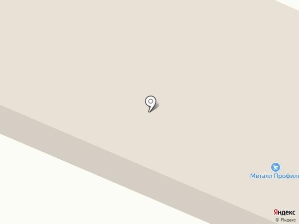 Компания Металл Профиль на карте Белово