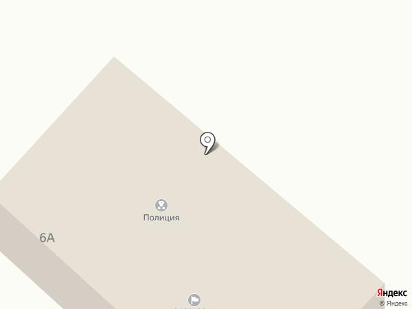 Участковый пункт полиции на карте Новобачатов