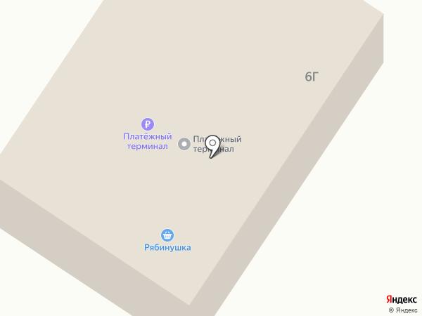 Рябинушка на карте Новобачатов